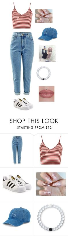"""""""Untitled #40"""" by lemonitadr on Polyvore featuring Topshop, adidas Originals, SO and Lokai"""