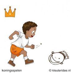 Koningsmaaltijd, koningsspelen voor kleuters, kleuteridee.nl ,14.