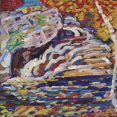 Marsden Hartley Autumn Cascade