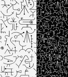 Incantation, Textile Design, 1947