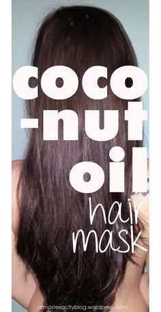 coconut oil hair mask - this is amazing for adding life and shine back into your hair. She adds pic and her hair looks absolutely gorgeous. I need some coconut oil. Diy Beauté, Coconut Oil Hair Mask, Natural Hair Styles, Long Hair Styles, Soft Hair, Shiny Hair, Tips Belleza, Hair Care Tips, Hair Health