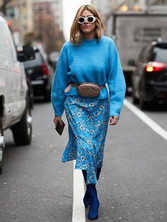 At Who What Wear, we can't get enough of dresses. You'll also know that we love street style. Celebrate the two with 50 images, and up your dress game.