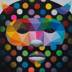 Black Mask, Geometric Art, Art For Kids, Canvas, Modern Paintings, Art For Toddlers, Tela, Art Kids, Canvases