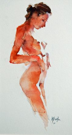 """Indrawn,"" a lovely portrait by Doug Swinton."