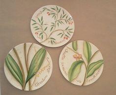 Pratos decorativos, Atelier Eimar Monteiro