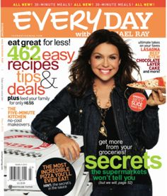FREE One-Year Subscription to Everyday with Rachael Ray Magazine