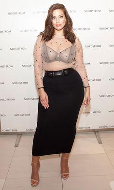 Ashley Graham Outfits, Ashley Graham Style, Look Plus Size, Plus Size Model, Curvy Girl Outfits, Plus Size Outfits, Curvy Girl Style, Curvy Women Fashion, Plus Size Fashion