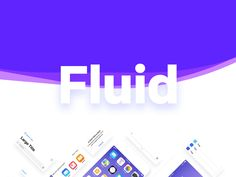 Next up, calling all Fluid is the new kit release from the team over at Framer. It contains hundreds of UI elements and prebuilt native layouts, all available for free! Ios Ui, Ui Elements, Ui Kit, Web Design, App, Digital, Layouts, Designers, Free