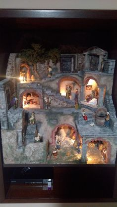 1 million+ Stunning Free Images to Use Anywhere Christmas Village Display, Christmas Table Decorations, Christmas Villages, Christmas Nativity, Model Castle, Fontanini Nativity, Diy Table Top, D&d Dungeons And Dragons, Diy Molding