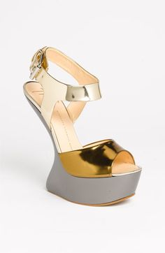 Giuseppe Zanotti Sandal | Nordstrom     I love this interesting sandal... not sure how comfortable it would be though! :)