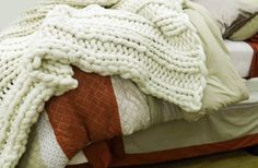 Chunky Blanket 30x60Super Chunky Blanket Pure by ColorwaysGallery