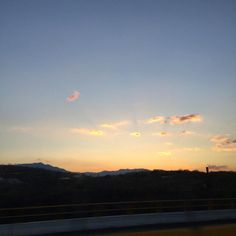 Of sunsets and road trips   http://ift.tt/1OnVtUD