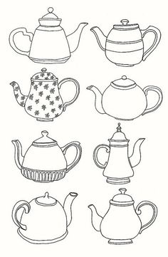 tea pots galore!
