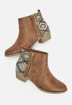 Arika Schuhe in Cognac - günstig kaufen bei JustFab