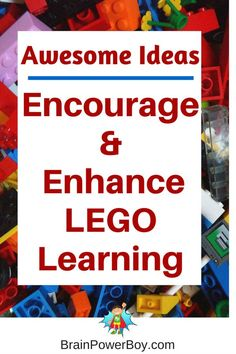Get more out of LEGO Learning by using these simple, but effective, ideas.