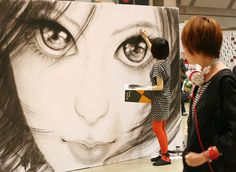Illustrator Machiko Ono イラストレーター小野眞智子さん。 Tokyo, Japan