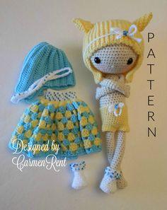 Nami Amigurumi Doll Crochet Pattern PDF