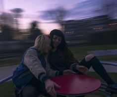 Okay but like going to a playground at sunset to take Aesthetic pictures