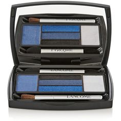 Lancôme + Anthony Vaccarello Hypnôse Palette - Blue Mania ($50) ❤ liked on Polyvore featuring beauty products, makeup, eye makeup, eyeshadow, beauty, blue, lancome eye makeup, lancôme, palette eyeshadow and lancome eye shadow