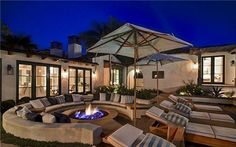 Custom Lanterns, Contemporary Night Light at John Lackey Estate  John Lackey Estate $10 million-