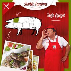 Kicsit vastagabb hús, sütőben és  roston pácolva is garantált az ízorgia. Ne hagyd ki a sertés egyik legnépszerűbb részét, a tarját sem!