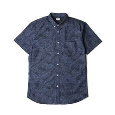 Japan's EDWIN does laser etching on their denim to bring a new life to a classic shirt | £80