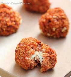 Vegetarian Superbowl Snacks Quinoa Pizza Bites #quinoa #gameday #superbowlsnacks #superbowl