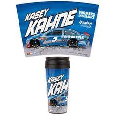 #5 Kasey Kahne 2013 Farmers Insurance Travel Mug Product ID: WC5TM $12.99 For more #5 Kasey Kahne Merchandise please Visit us At www.nascarshopping.net  #NASCAR #Hendrickfans #henderickmotorsports #5kaseykahne #flags  #nascargear