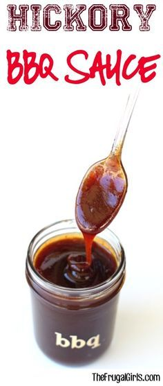 Easy Homemade Hickory BBQ Sauce Recipe! ~ from TheFrugalGirls.com ~ this delicious Barbecue Sauce is so simple to make and perfect for chicken, ribs, and pulled pork! #recipes #thefrugalgirls