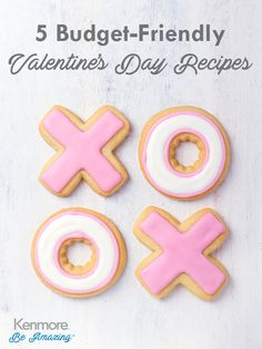 Staying in is the new going out. Keep it in budget with these great Valentine's day recipes.