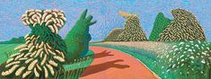 Major Exhibition Explores Van Gogh's Influence on David Hockney for the First Time David Hockney Paintings, Abstract Landscape, Painting, Art, Pictures, Art Movement, Painting Collage, Pop Art, Van Gogh Museum