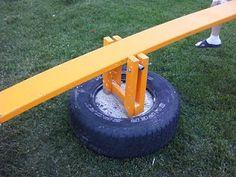 Tires - Teeter Totter