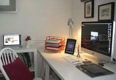 My home office, a little mac world | Flickr - Photo Sharing!