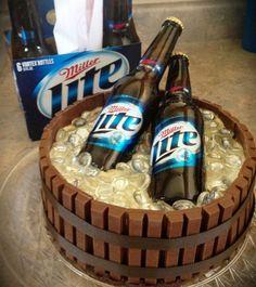 Ice Bucket Themed Kit Kat Cake