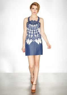 vivienne tam mosaic dress