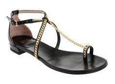 Stuart Weitzman at - Classy Chain Thong Sandal - Women's Stuart Weitzman, Classy, Chain, Sandals, Women's Shoes, Fashion, Moda, Shoes Sandals, Woman Shoes