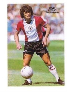 SHOOT Annual Southampton KEVIN KEEGAN football picture / poster