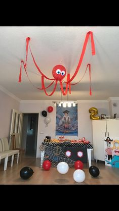 Suspended Oktopus-Dekor – Account Suspended Oktopus-Dekor – Pirate Party Paper Sign- Under the Sea Party Decorations, Beach Party, Birthday… Oktopus-Dekor, 60 Small Apartment Bedroom Decor Ideas On A Budget Apple dinner table Las Vegas Theme Party Pirate Party Games, Birthday Party Decorations Diy, Pirate Theme, Watermelon Birthday Parties, 4th Birthday Parties, Pirate Birthday, Birthday Diy, Octopus Decor, Octopus Octopus