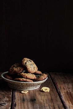 Chocolate Banana Chip Cookies by pastryaffair, via Flickr