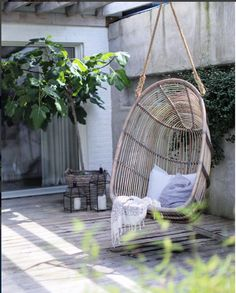 Ute Hanging Chair, Furniture, Home Decor, Decoration Home, Hanging Chair Stand, Room Decor, Home Furnishings, Home Interior Design, Home Decoration