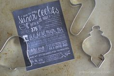 DIY Christmas Gift Idea: Cookie Cutter Set & Free Printable