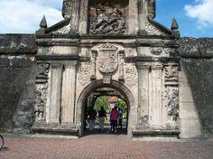 The Gate of Fort Santiago  #Intrmuros  #Manila  #Philippines