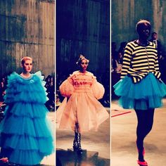 Frills tulle and tutu's @mollymgoddard #londonfashionweek #london #lfwaw17 #lfw by @deborahlatouche  via ELLE ITALIA MAGAZINE OFFICIAL INSTAGRAM - Fashion Campaigns  Haute Couture  Advertising  Editorial Photography  Magazine Cover Designs  Supermodels  Runway Models