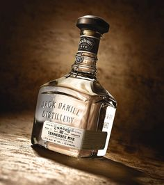 Jack Daniel's Distiller's Rum via the Dieline
