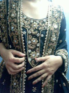 Black Silk Gharara
