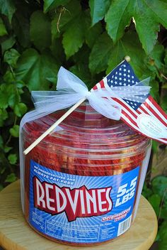 """4th of July gift: Enjoy some """"RED VINE AND BLUE""""!  !"""