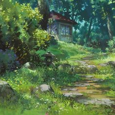 """Wild Grasses Take Over: Music to transport you to the worlds created by Joe Hisaishi and Hayao Miyazaki. """"Modern life is so thin and shallow and fake. I look forward to when developers go bankrupt, Japan gets poorer and wild grasses take over."""" -Hayao Miyazaki"""