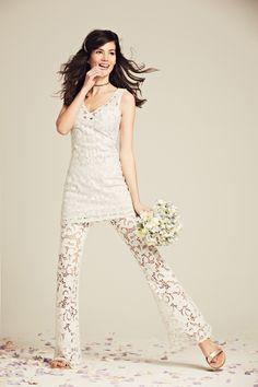 Calypso St. Barth Bridal - Kagami Linen Eyelet Dress