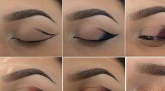 Beautiful Girls Magazine: Perfect Winged Bronze Smokey Eye Tutorial
