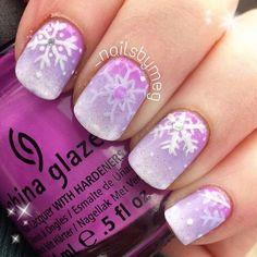 snowflakes by _nailsbymeg